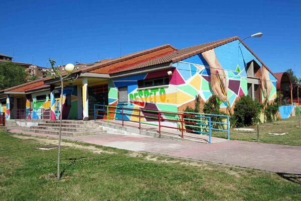 Decoraciones de colegios con grafiti en Madrid