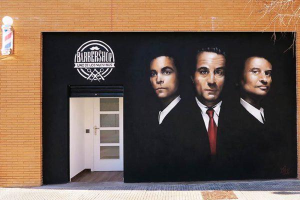 Grafiti exterior en Madrid