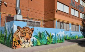 graffiti colegios Madrid