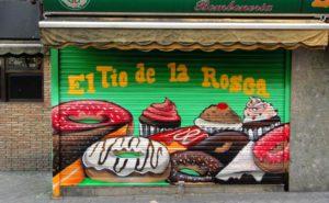 Decoración pasteleria Madrid