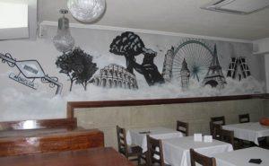 Decoración restaurante Madrid