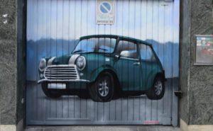 Graffiti puertas negocios