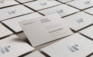 Diseño tarjetas visita
