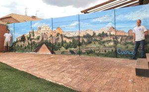 Decoración mural casa en Cuenca