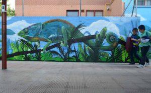 Graffiti muro en Segovia