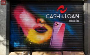 Decoración cierre tienda en Madrid