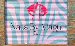 Graffiti para local en Madrid