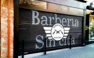 Decoración barberia Madrid
